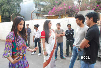 On the sets: 'Dance India Dance'
