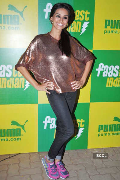 Celebs at Puma party