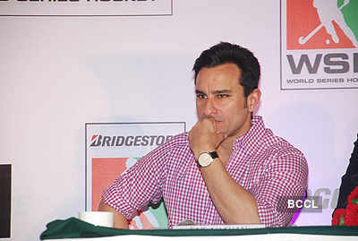 Saif Ali Khan at WSH press meet