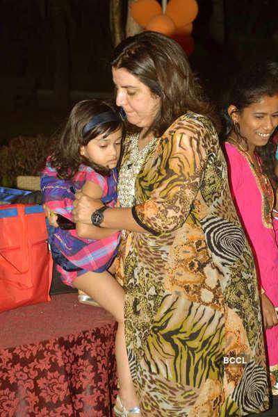 Manoj Bajpai's daughter's b'day party