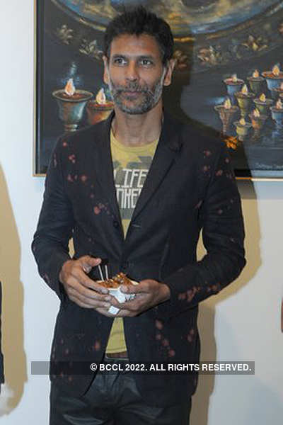 Art exhibition hosted by Prince Singhal