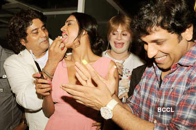Veena Malik's surprise b'day party