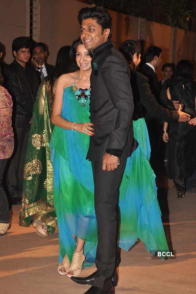 Dheeraj Deshmukh & Honey's reception