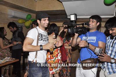 Kishwar Merchant's b'day party
