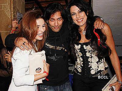 TV stars @ Juhi Parmar's party