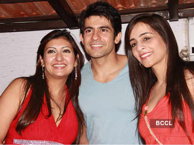 TV stars @ Juhi Parmar's party