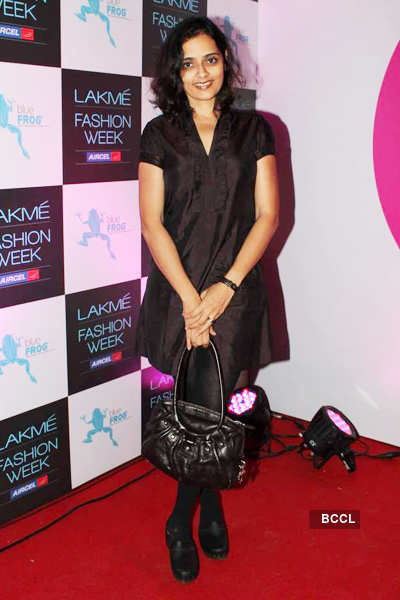 Celebs @ LFW opening party