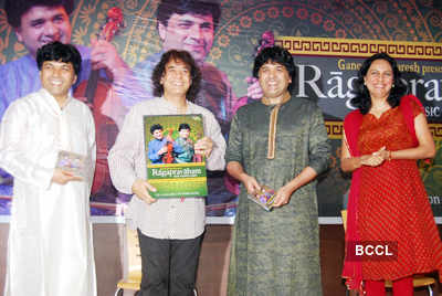 Album launch: 'Ragapravaham'