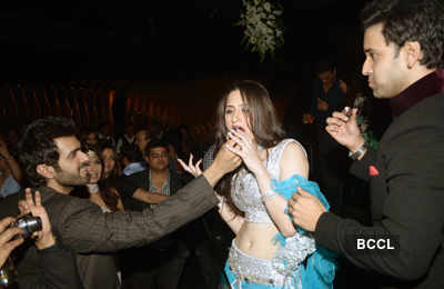 Sanjeeda-Aamir's pre-wedding party