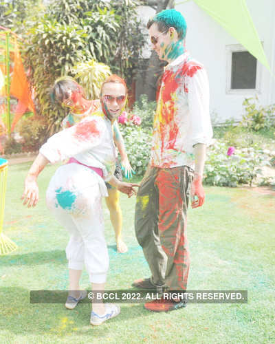 Vineet Jain's Holi Party '12 - 1