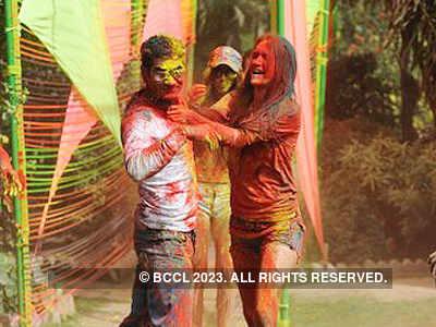 Vineet Jain's Holi Party '12 - 4