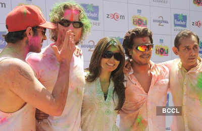 Zoom Holi party