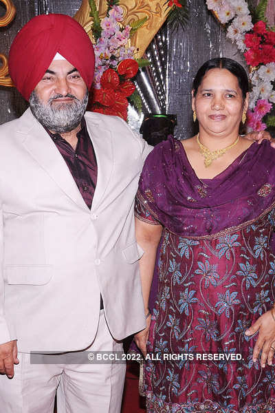 Hardeep-Gurjeet's wedding reception