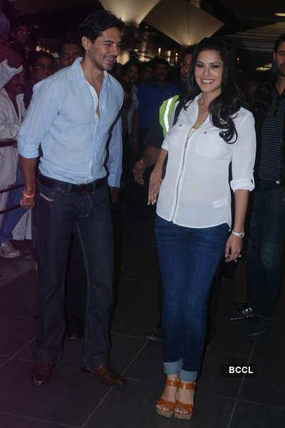 Sunny in Mumbai for 'Jism 2' shoot