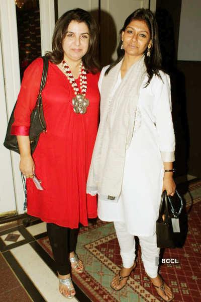 Farah, Nandita @ Barnard College event