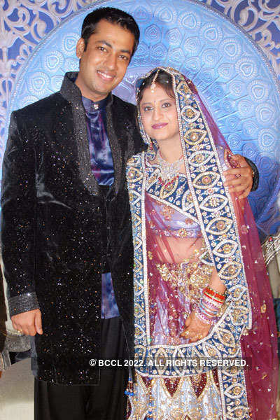 Saurabh & Kanika's wedding reception