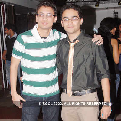 CA student's success party