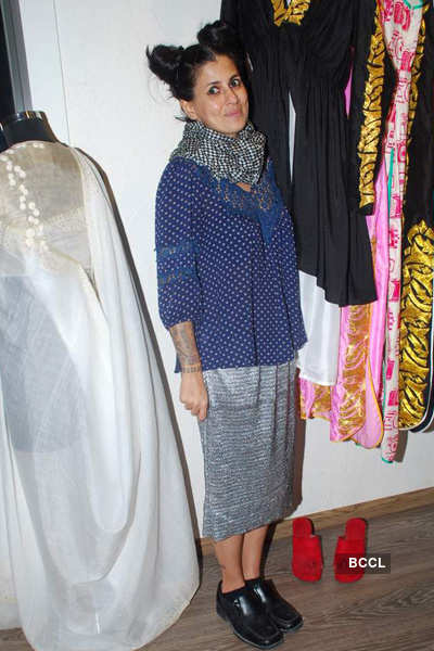 Celebs at Atosa collection preview