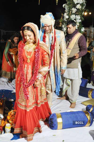Shiv Karan Singh, Reema Sen's wedding