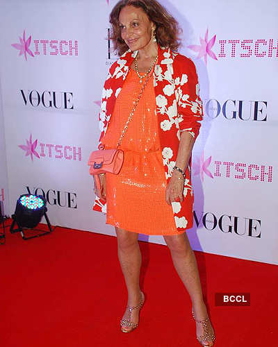 Celebs @ bash for Diane Von Furstenberg
