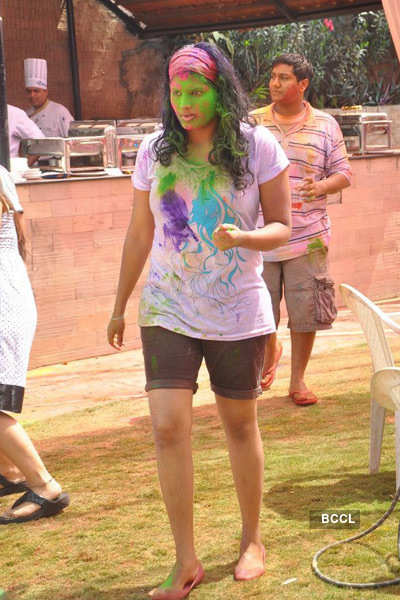 Holi celebrations @ Taj Banjara