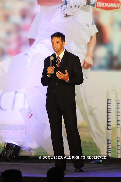 Rahul Dravid's felicitation function