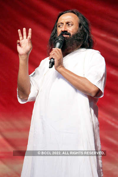 Sri Sri Ravi Shankar in Lucknow