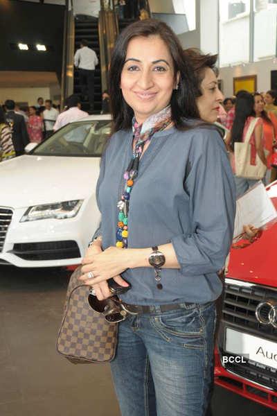 Celebs @ Audi's art event