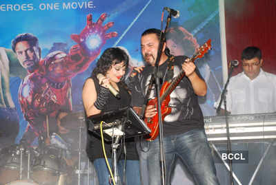 'The Avengers' music launch