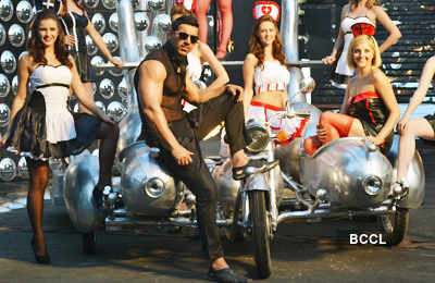 John's item song for 'Vicky Donor'