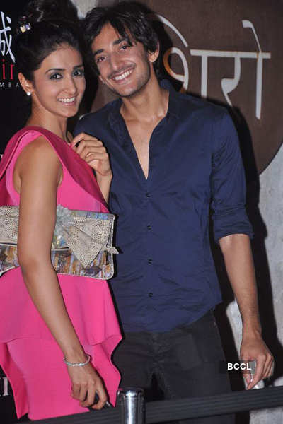 Arjun and Rohit Bal's bash at Shiro