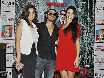 Kunal, Amrita, Mia promote 'Blood Money'