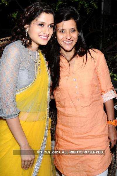 Sathya Saran's book launch party