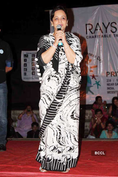 Celebs at Priyanj school event