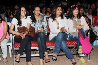 Celebs at Priyanj school event