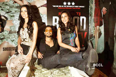 Success party: 'Blood Money'