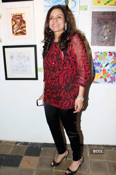 Poonam Salecha's painting exhibition