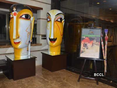 Kiran Rao @ Ravi Mandlik's art show