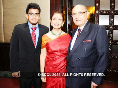 Lalit Bhasin's dinner party
