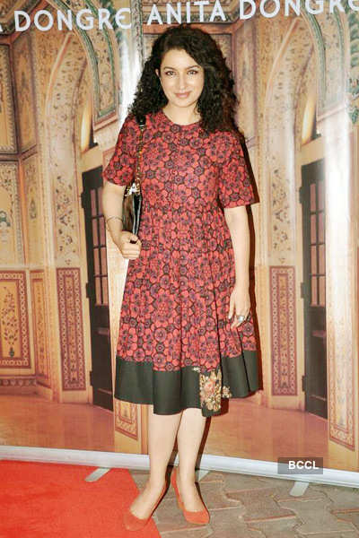Celebs @ Anita Dongre store launch