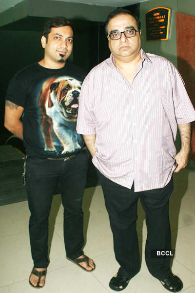 Satish Kaushik's b'day party