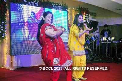 Bappa-Taneesha's sangeet ceremony