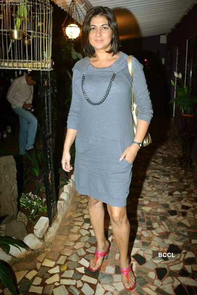 Shaina NC's dinner bash for Goa CM