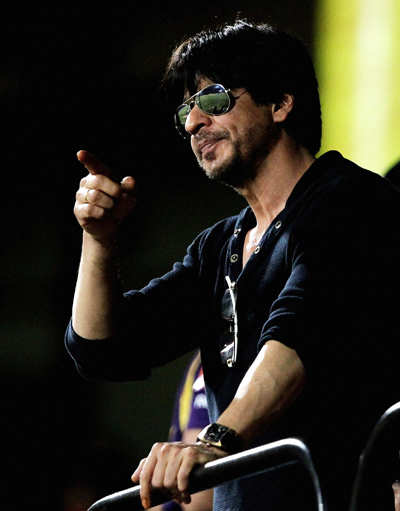 SRK, Sakshi at IPL