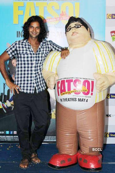 'Fatso' cast @ Inorbit Mall
