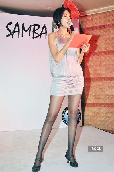 Sandip Soparrker dance event