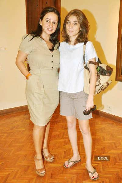 Nandita & Penny's art show