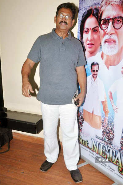 Movie launch: 'Smt.Netaji'