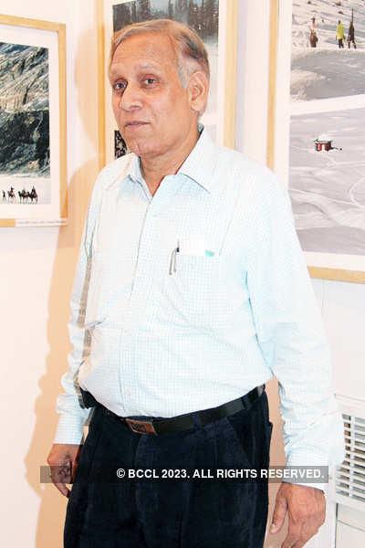 Akhilesh @ Photography exhibition