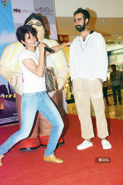 Ranvir, Gul, Purab promote 'Fatso'